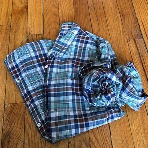 J. Crew Lightweight Plaid Perfect Shirt